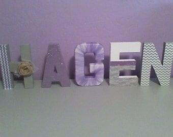 Custom Cardboard Letters