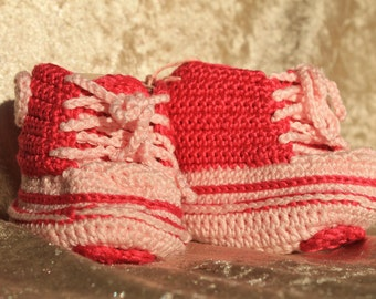 crochet slippers chucks