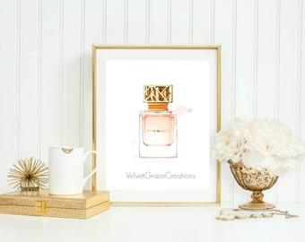 Tory Burch Perfume WallArt Printable || Chic Wallart printable