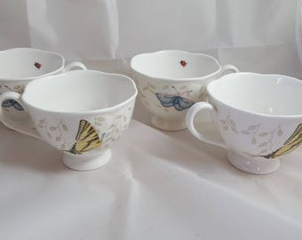 Lenox Butterfly Meadows 4 Cups