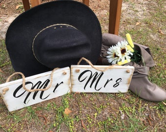 Rustic ,country chic handmade  wedding signs