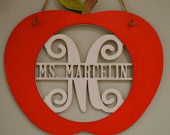 Decorative Classroom Teacher Sign