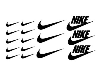 16 Pcs Nike Swoosh Logo Apple Macbook Laptop Vinyl Sticker Decal
