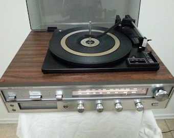 Vintage Sears Compact Turntable/Good Working Condition