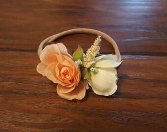 Simple floral headband