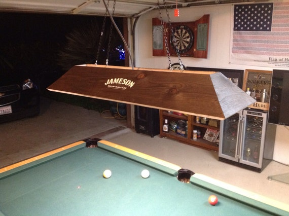 items similar to jameson irish whiskey pool table light