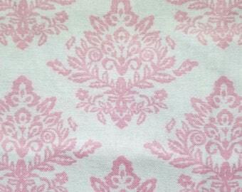 Velvet Damask-Pink Fabric