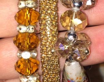 Shimmery Bracelet Trio