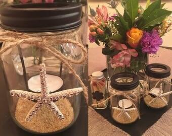 Starfish Tea Light Candle Holder
