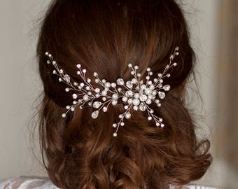 Bridal hair piece Wedding hair piece Bridal headpiece Wedding headpiece Crystal bridal headpiece Rhinestone hair piece Bridal hair jewerly