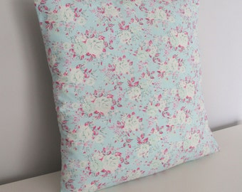 Handmade Floral Print Cushion Cover
