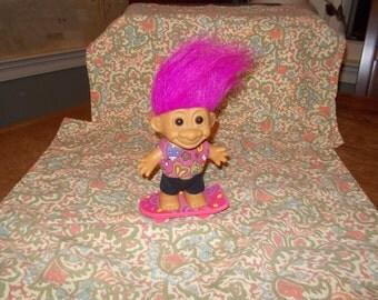 Russ brand Skateboard Troll doll