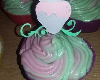 Strawberry Cupcake Soap