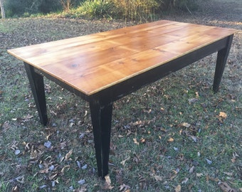 Kitchen Table, Distressed Farm Table