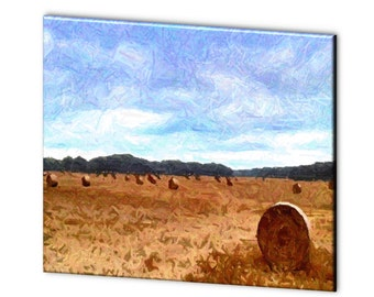 "Limited Edition ""Harvest"" Artistic Photography Canvas Print - 10% of Proceeds for Charity"