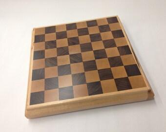 """End Grain Chess Board 11.5"""" square"""