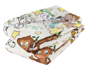 Adult baby Crinklz colorful diapers carton in size L