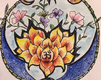 Yoga, Lotus, Astmosphere