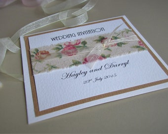 Pocketfold Wedding Invitation Eloise - SAMPLE