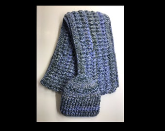 Ladies Scarf and Beanie Set