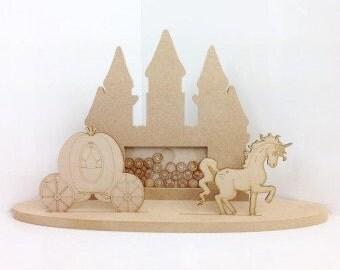 Princess drop box, Cinderella drop box, fairytale drop box, fairytale reward box, childrens reward drop box