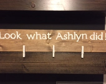 Personalized Art Display