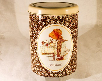Holly Hobbie Storage Tin with Lid