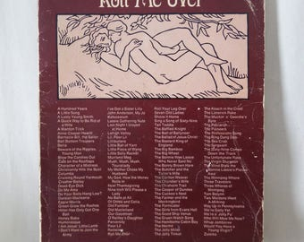 "1970's Folk Music Songbook  ""Roll Me Over"" Funny/Naughty/Bawdy Lyrics, Guitar, Piano"