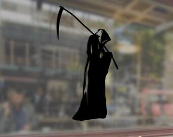 Reaper of souls with a scythe Dead Vinyl Sticker Funny Decals Bumper Car Auto Laptop Wall Window Glass Skateboard Snowboard Helmet Macbook