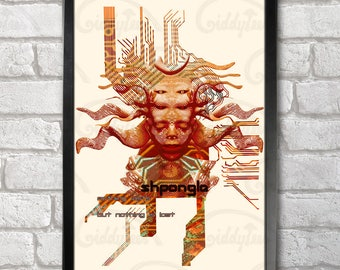 Shpongle Goddess Poster Print A3+ 13 x 19 in - 33 x 48 cm  Buy 2 get 1 FREE