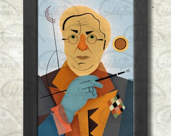 Wassily Kandinsky Poster Print A3+ 13 x 19 in - 33 x 48 cm  Buy 2 get 1 FREE