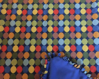 Poka Dot Fleece Blanket