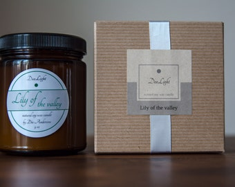 Hand Poured Soy Wax Candle made in Brooklyn