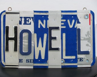 Custom License Plate Names - Made to Order