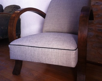 Vintage Art Deco restoration traditional Chair