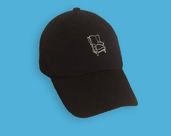 Embroidered Chair Hat