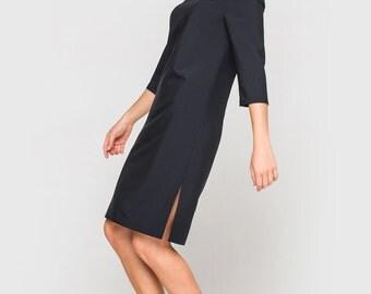 Dress, Women Dress, Dress for Women, Autumn/Winter/Spring Dress, Long sleeves Dress, Black Dress, Classic Dress, Dress for You
