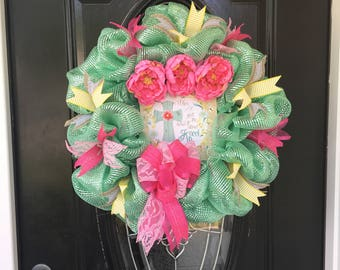 Spiritual Kneel Wreath