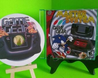 Sega dreamcast game gear comp disc fan made home brew