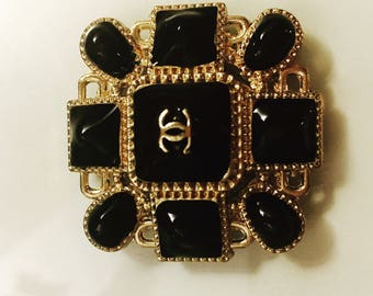 Chanel Large Button