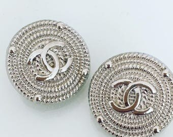 Chanel Buttons Set of 2