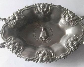 Asturian metal trays.