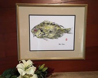 """Fish print - """"Sushi"""""""