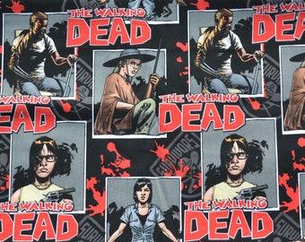 The Walking Dead, Zombies, Valance, Window Valance, Window Curtain, Window Treatment, New, Handmade