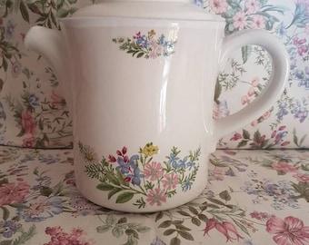 Vintage Floral Coffee Pot vintage wedding