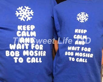 Keep calm snow day shirt
