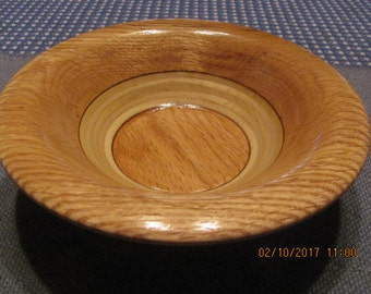 809 OAK and PLYWOOD BOWL