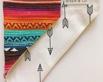 Aztec | Reversible Dog Bandana