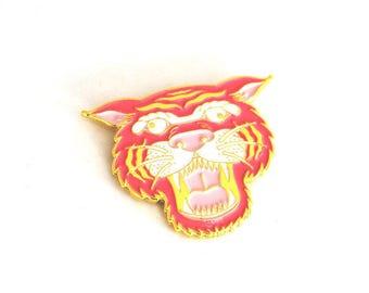 Wacky Pink Tiger Pin
