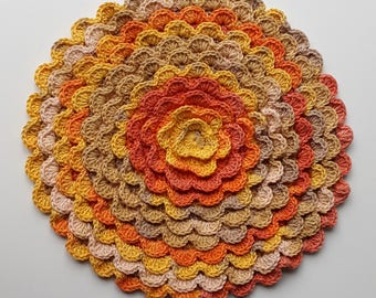 Decorative flower, Dekorative Blume